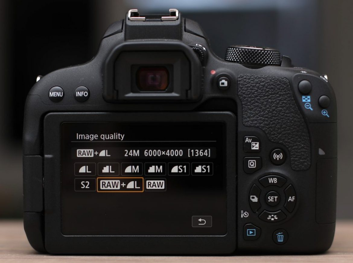 Canon 800D performance. Impact of memory cards.