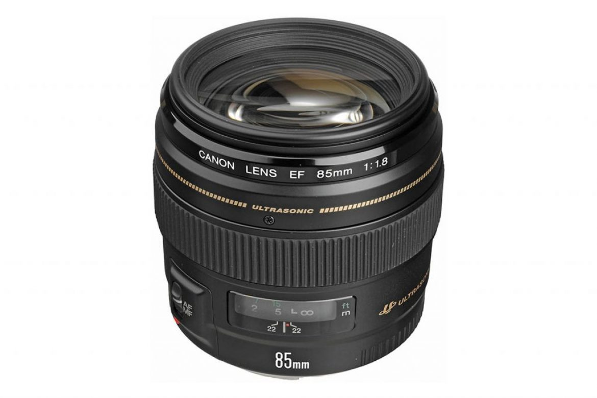Canon 85mm f1.8 is a beautiful lens